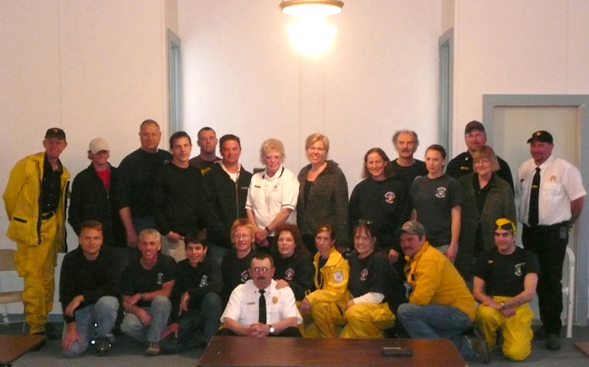 April 2010 - Colestin-Hilt Firefighters & Medical 1st Responders